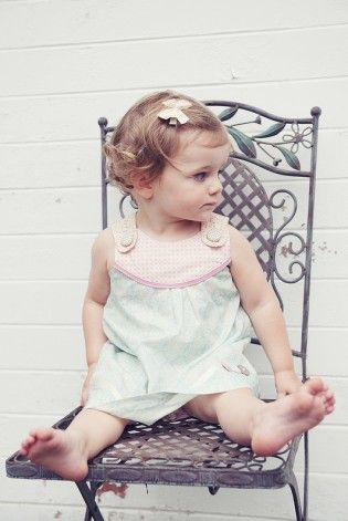 Myah Vintage Dress - Lexi and Lily