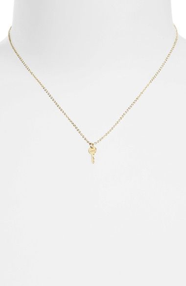 The Giving Keys Love Mini Key Necklace available at #Nordstrom