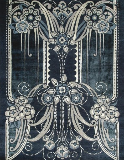 Black Pearl - from the Catherine Martin Deco Collection from Designer Rugs