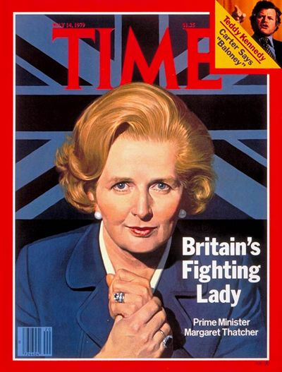 What better representative for strong women leaders than Maggie Thatcher, the Iron Lady, Prime Minister of the United Kingdom from 1979 to 1990.