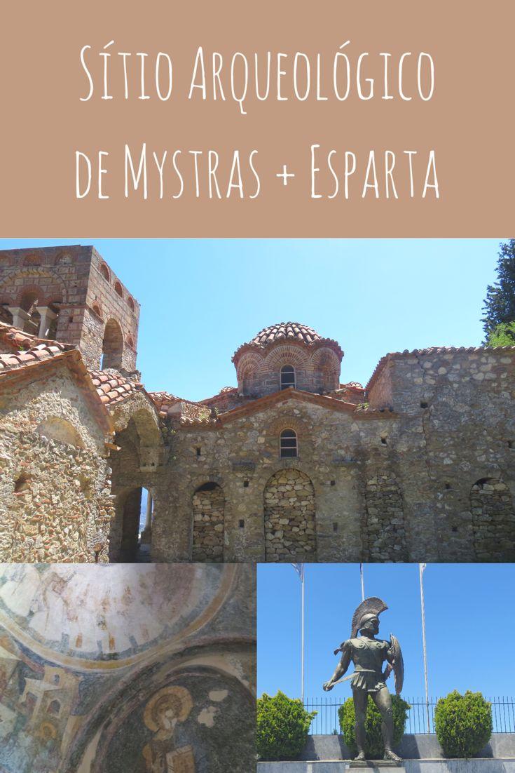 Sítio Arqueológico de Mystras + Esparta