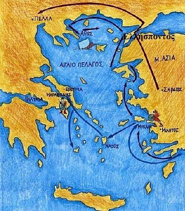 Η μάχη του Μαραθώνα http://sofixanthi.blogspot.gr/2014/12/blog-post_1.html?utm_source=dlvr.it&utm_medium=facebook