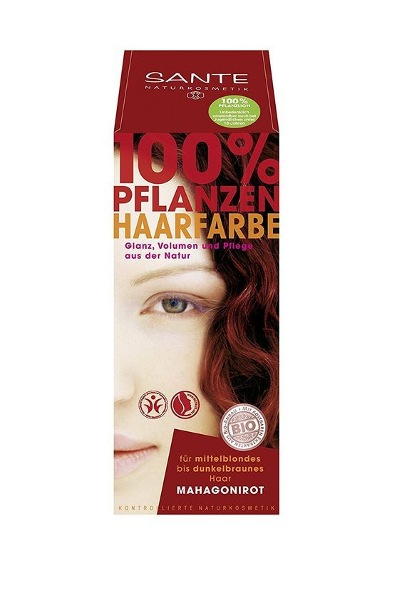 sante herbal hair color mahogany red more info could be found at - Coloration Henn Acajou