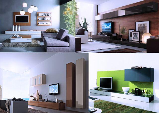 Centro de entretenimiento dise o y decoraci n casas - Muebles para exteriores ...