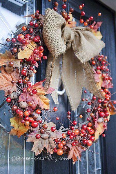 Осенний венок-3