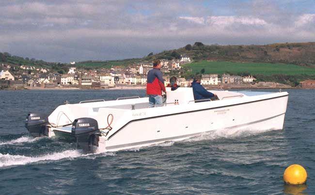 Power Catamaran from Ecocats