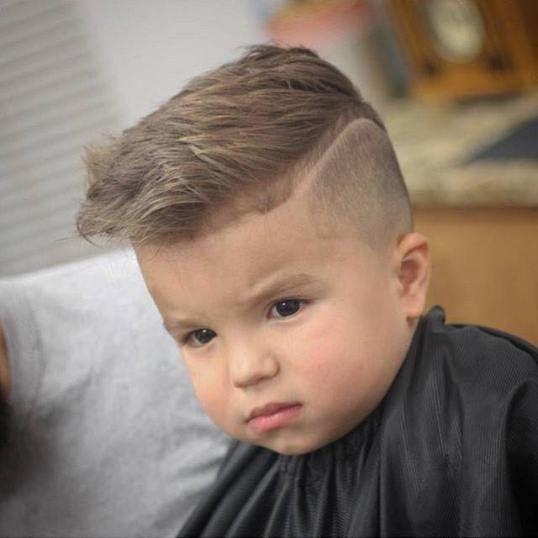 Cute baby boy hair style