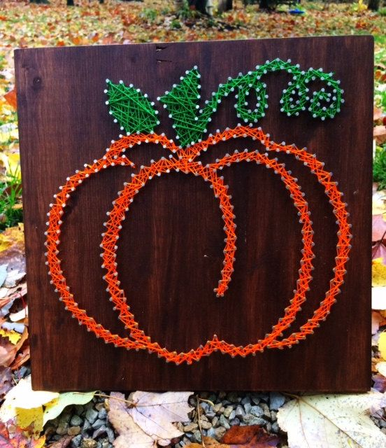 Hey, I found this really awesome Etsy listing at https://www.etsy.com/listing/254098846/pumpkin-string-art-made-to-order