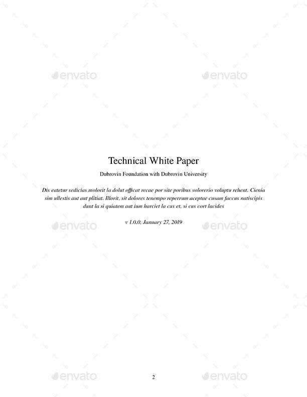 Technical White Paper #Technical, #White, #Paper | Abstract Design