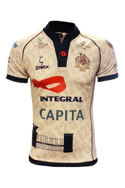 Bristol Rugby replica away shirt 2013/14 season!