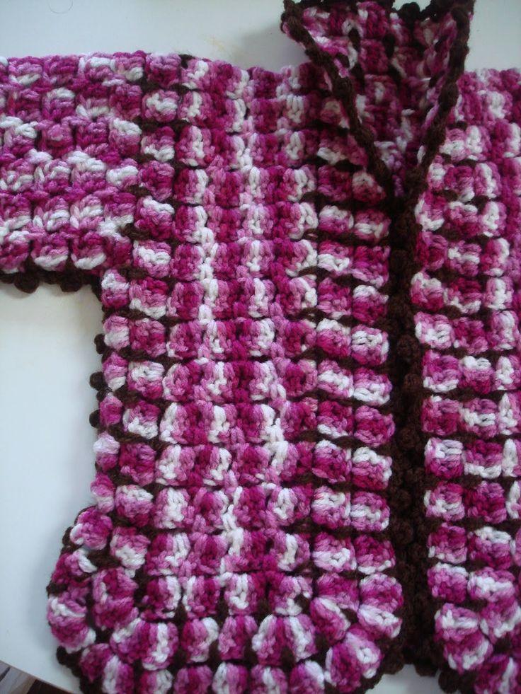 Sueter tejido a crochet patron en tejiendo peru