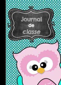 Journal de classe enseignant 2017-2018