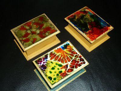 Manualidades: Técnicas Jacarelado Y Pinturas Vitrales
