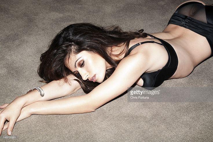 News Photo : Actress Sarah Shahi is photographed for New York...
