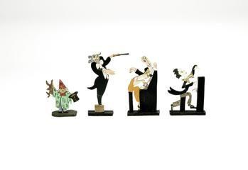 figurine, fretwork, British