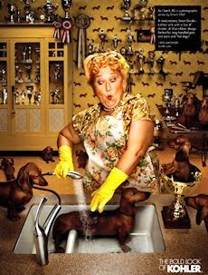 kohler ad with dachshunds: Erwin Olaf, Kohler Ad, Doxies, Crazy Cat, Weiner Dogs, Things, Wiener Dogs, Animal