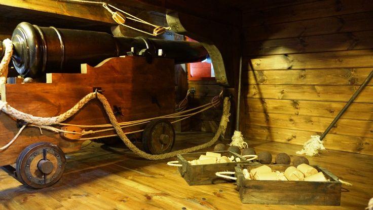 Útiles para carga y limpieza del cañón