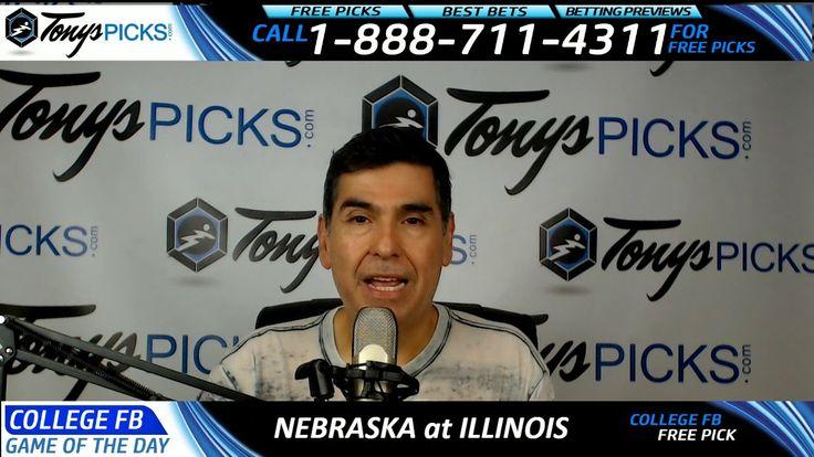 Nebraska Cornhuskers vs. Illinois Fighting Illini Free NCAA Football Pic...