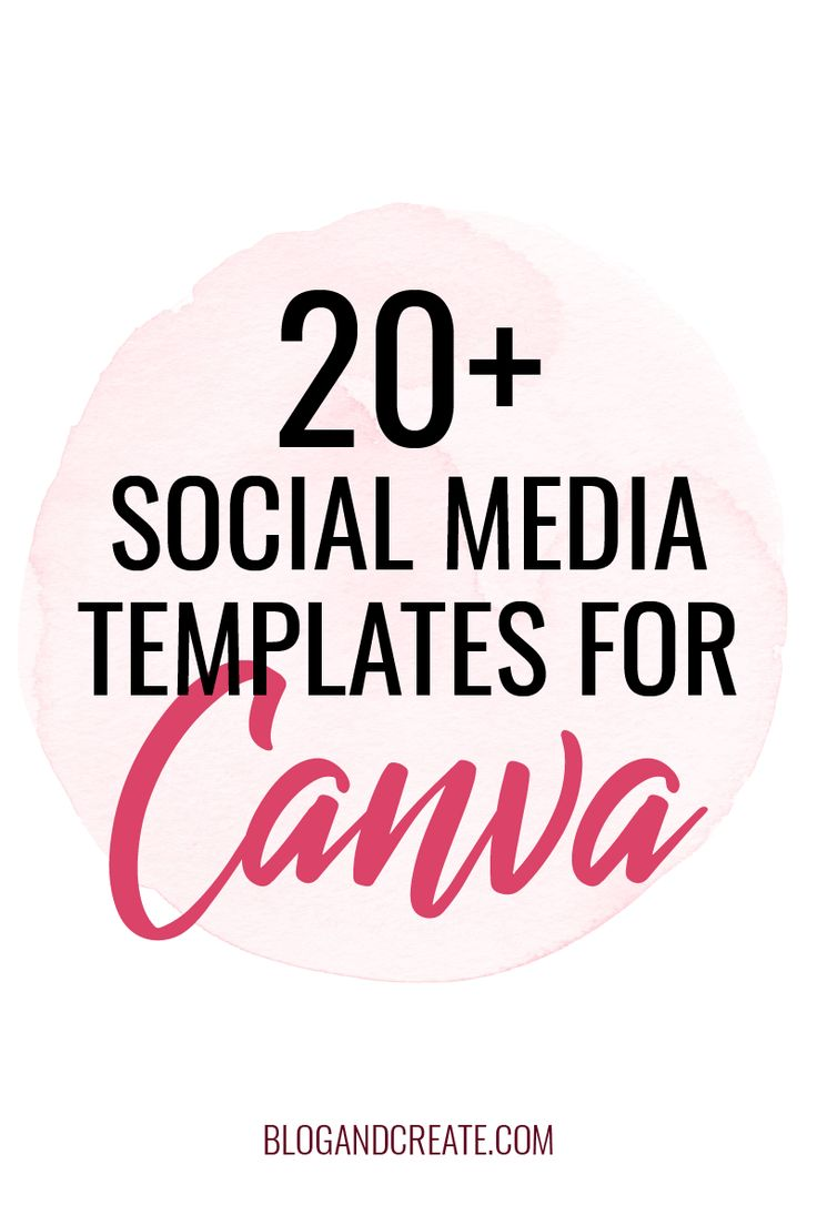 Expand your Canva template library with these social media graphics, quotes, and template packs. Graphic design for your social media strategy doesn't have to be difficult or stale. Great idea kits for Facebook, Instagram, Pinterest, and Twitter designs. #BlogAndCreate #SocialMediaMarketing #BloggingForBeginners #GirlBoss #BloggingTips