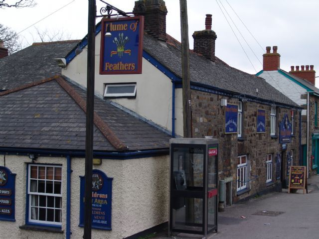 The Plume Of Feathers Pool Redruth Cornwall My