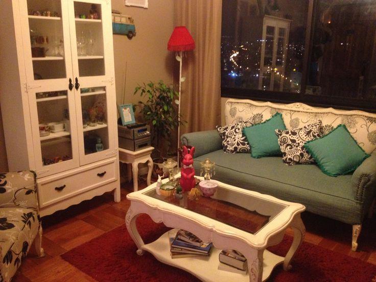 Mi depto amado provenzal, provenzal Decoracion living room