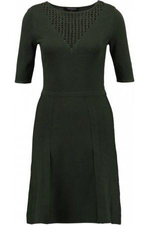Dames Jurken - Morgan RETCH Gebreide jurk kaki