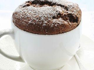 Receta:Virginia Sar/Mug cakes de chocolate y pasta de avellanas