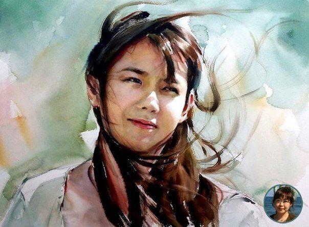 misulbu watercolor -