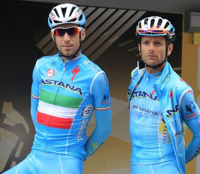 Astana boys Nibali  Scarponi