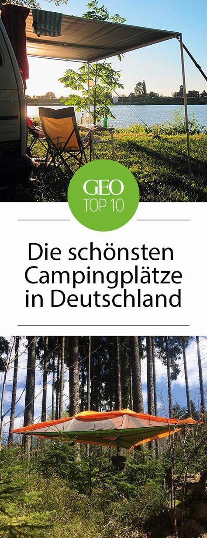 Cool Camping Deutschland: Zehn sensationelle Zeltplätze – Kathrin Kranz