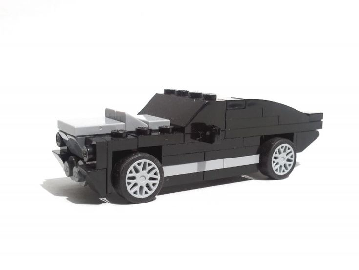 lego 4 wide car | 1967 Ford Mustang Shelby Cobra GT500 Fastback Eleanor - Realistic 4 ...