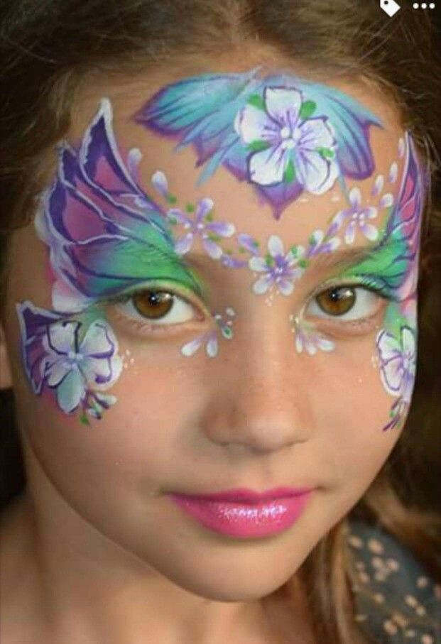 Henna By Leyla Shemesh: 1001 Best Face Paint- Fairies & Butterflies Ideas Images