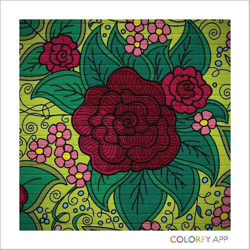 rose 3rd #colorfy
