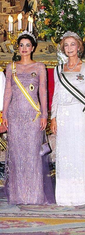 Vestidos de Gala de la Reina Sofía