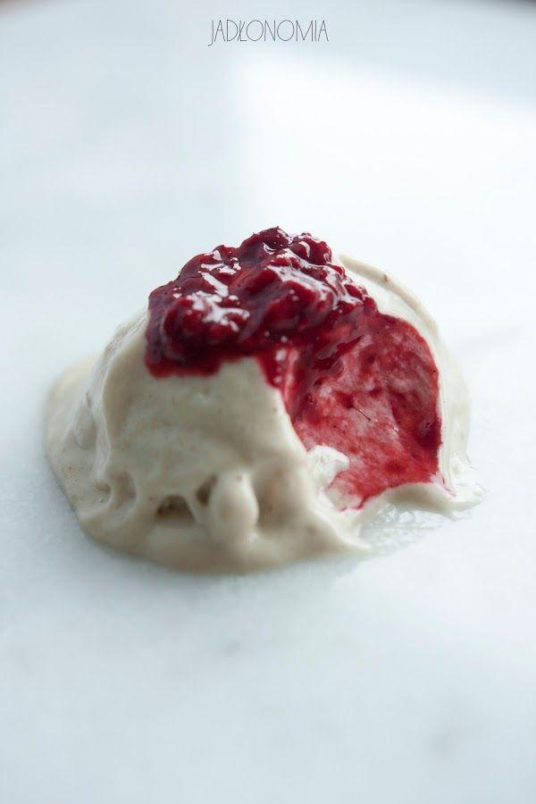 jadłonomia · roślinne przepisy: Wegańskie lody chałwowe