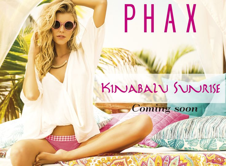 We are excited for our launch...New Collection Kinabalu Sunrise  Coming Soon Miami Swimshow and Colombiamoda....!!!