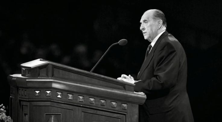 They say that a prophet should be a window to the Lord. I would say President Monson has been just that. I can't pick...