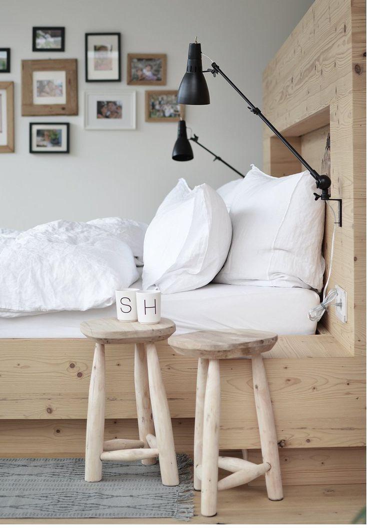 les 25 meilleures id es de la cat gorie tabouret en bois sur pinterest assemblages de bois. Black Bedroom Furniture Sets. Home Design Ideas