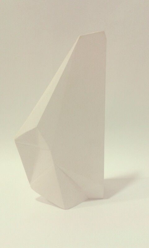 My plaster sculpture