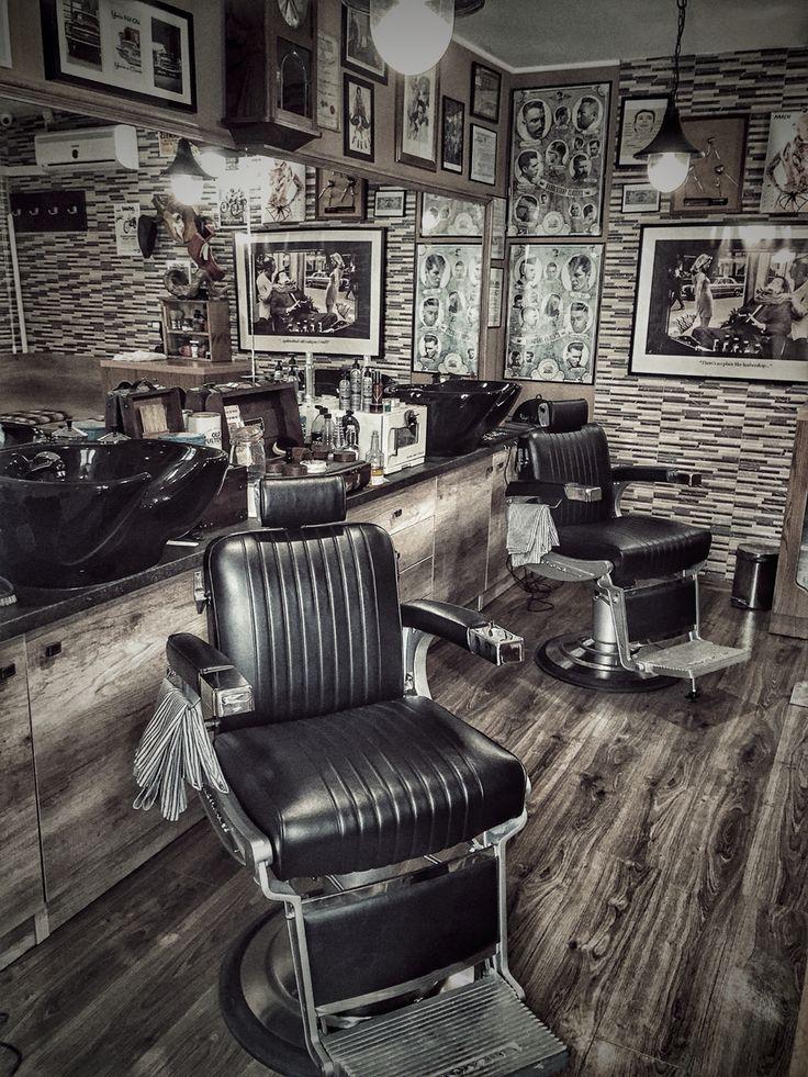 conceito em barbearia httpcapitaomustacheclub capitao mustache barbershop designbarbershop ideasbarber - Barbershop Design Ideas