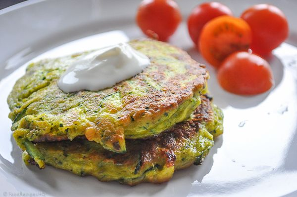I might actually make these-zucchini patties.