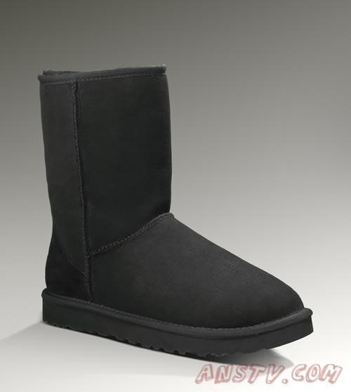 Ugg Hommes 5800 Classic Short Boots Noir 2014
