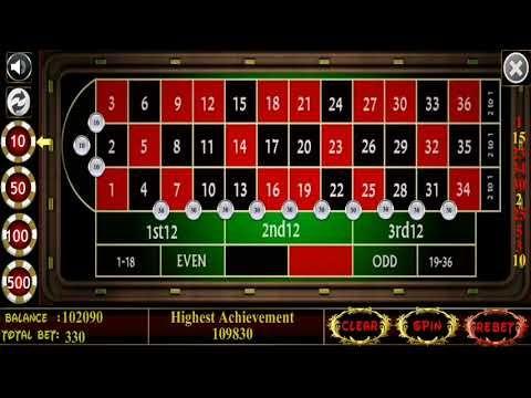Roulette- World's Best winning strategy.. 100% Sure win ...