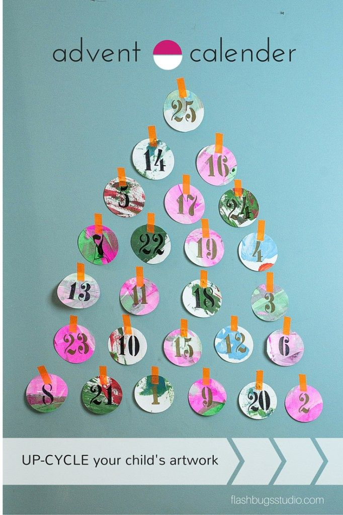 Advent Calendar Art Lesson : Best images about family art projects on pinterest