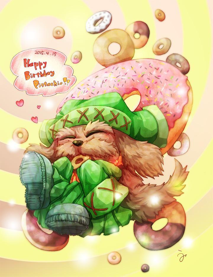 #ピスタチオ生誕祭2015 穴まで食べたいドーナツ♡