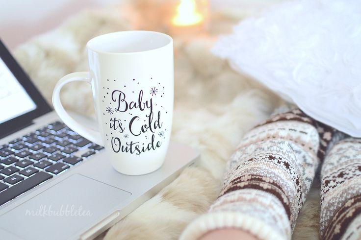 cosy winter staples - Milk Bubble Tea