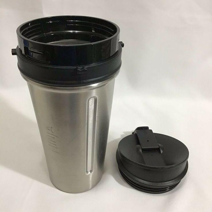 Ninja 24 oz stainless steel nutri ninja cup w sip seal