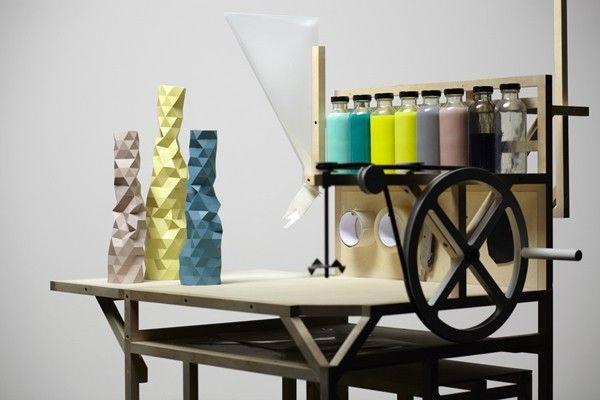 Faceture, piezas artesanales en resina. Phil Cuttance