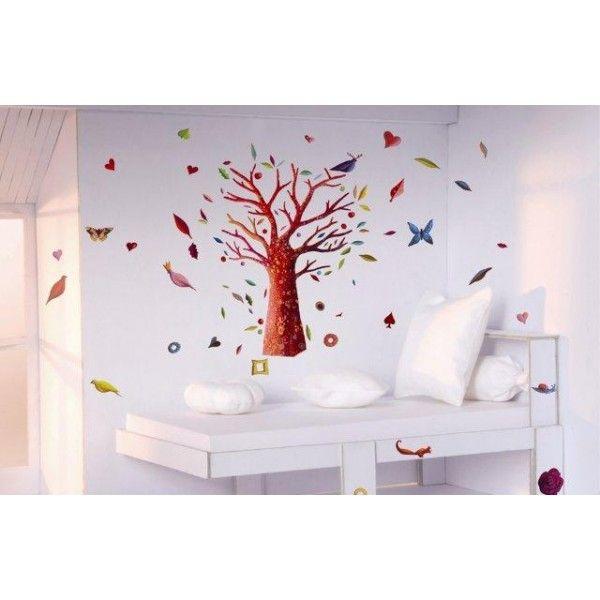 Djeco Διακόσμηση τοίχου 'Παραμυθένιο δέντρο'  6φυλ. Διαστάσεις: 17,5x70εκ.