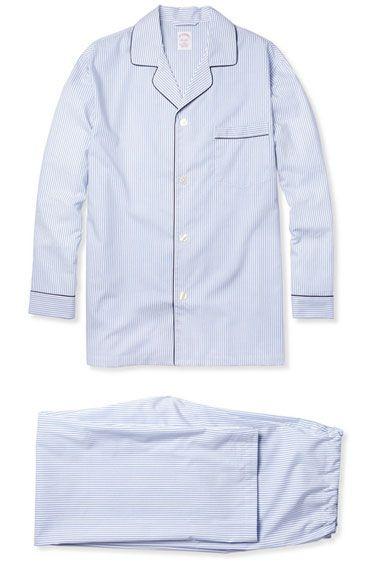 Brooks Brothers monogrammed pajamas, $110.50